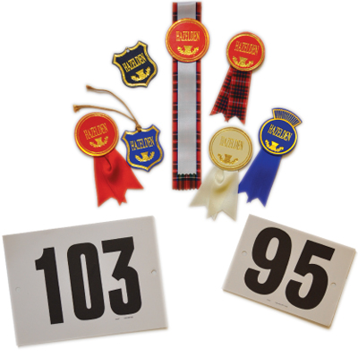 Badges and Numbers Group